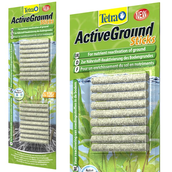 Tetra Pflanzendünger ActiveGround Sticks