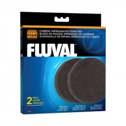 Fluval Kohlefilterschwamm für Fluval FX5/6 2er Pack