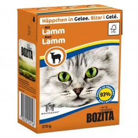 Bozita Häppchen in Gelee mit Lamm 16x370g
