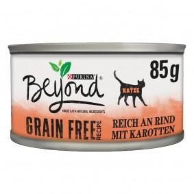 Purina BEYOND® bez obilovin svysokým obsahem hovězího masa asmrkví