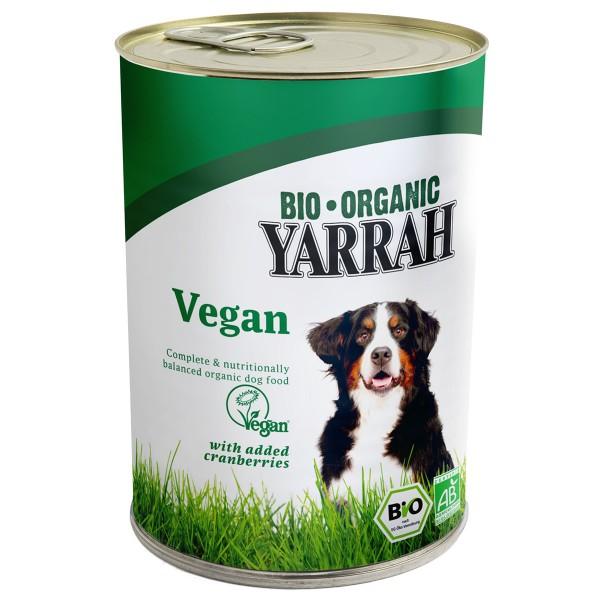 Yarrah Hundefutter Bio Bröckchen VEGAN mit Cran...