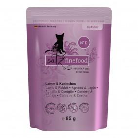 catz finefood - No. 11 Lamm & Kaninchen 16x85g