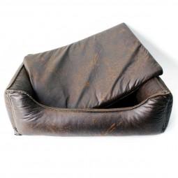Wolters Hundebett Senator Lounge in antik-braun