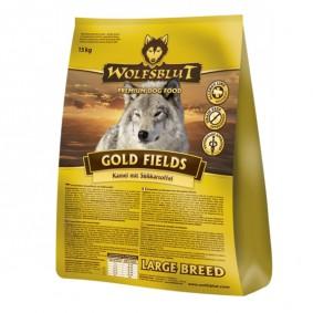 Wolfsblut Gold Fields Large Breed Kamel, Strauß & Süßkartoffel