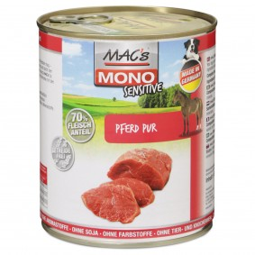 MAC's Dog Mono Hunde-Nassfutter Sensitiv Pferd Pur