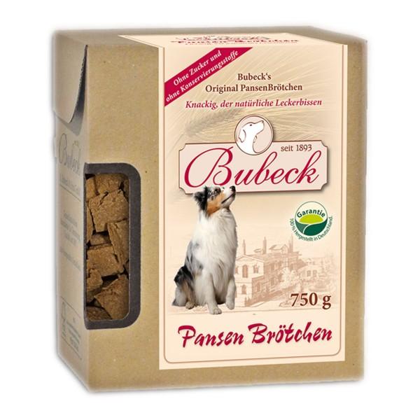 Bubeck Hundesnack Pansenbrötchen 750g