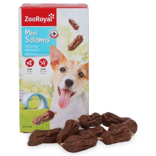 ZooRoyal Hundesnack Mini Salamis 24 Stück