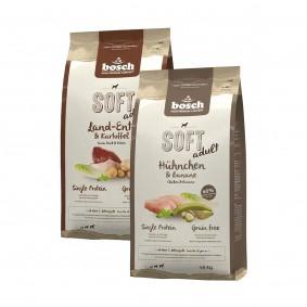 Bosch Soft Trockenfutter Probierpaket 2x1kg