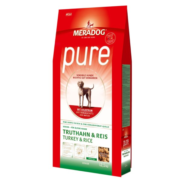 Mera Dog Pure Senior Truthahn & Reis