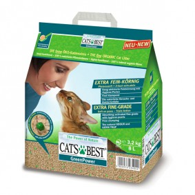 Cat's Best Katzeneinstreu Green Power 8l