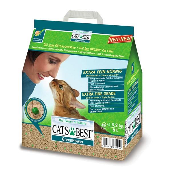 Cat's Best Katzeneinstreu Green Power 8l