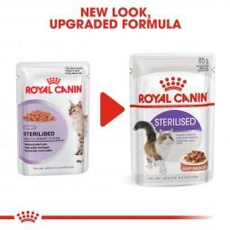 ROYAL CANIN STERILISED Nassfutter in Soße für kastrierte Katzen