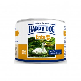 Happy Dog Hundefutter Ente pur