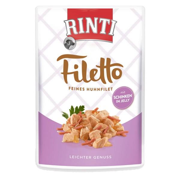 Rinti Filetto Huhn & Schinken in Jelly
