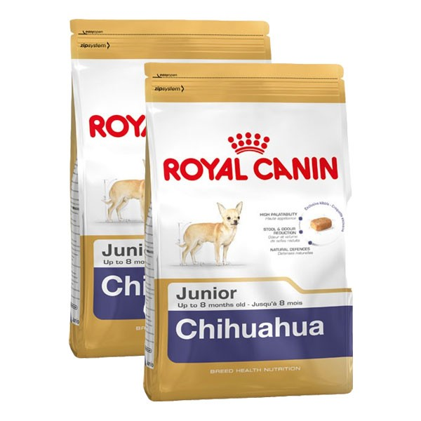 Royal Canin Hundefutter Chihuahua Junior 2x1,5kg