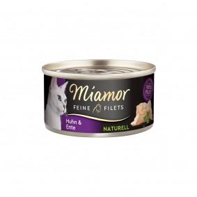 Miamor Feine Filets Naturell Huhn & Ente