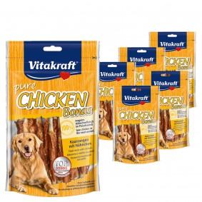 Vitakraft Hundesnack pure Chicken Bonas 5x80g + 1x80g gratis