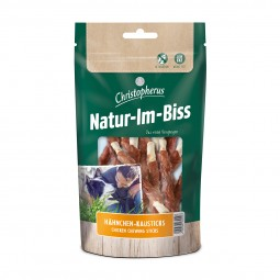 Christopherus Hundesnack Natur-Im-Biss Hähnchen-Kausticks 70g