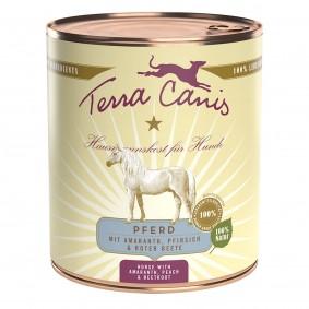 Terra Canis Pferd mit Amaranth, Pfirsich und  Roter Beete