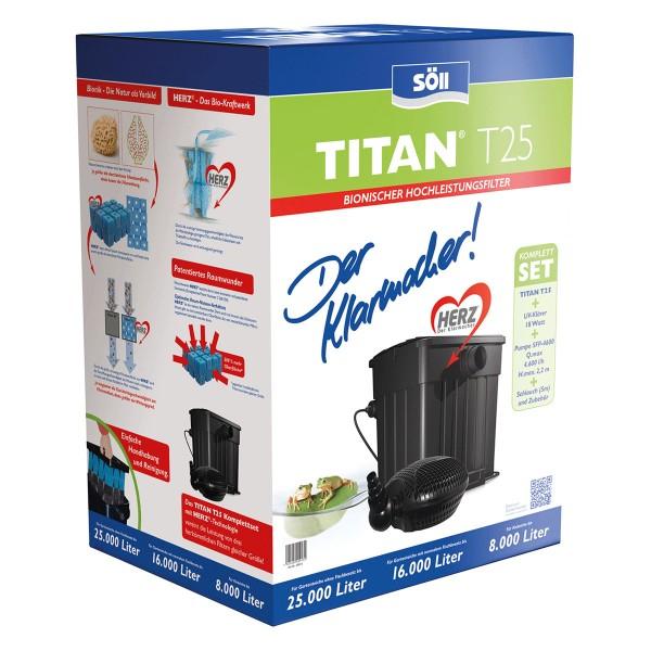 Söll Filterset TITAN® T25 mit HERZ®-Technologie