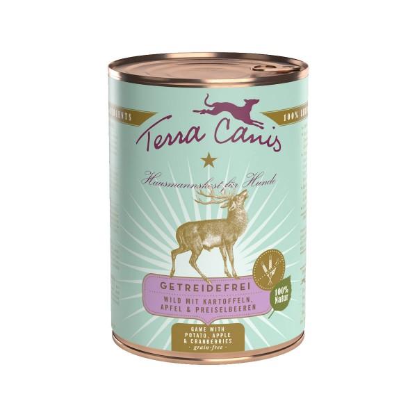 Terra Canis getreidefrei Wild mit Kartoffeln, Apfel und Preiselbeeren