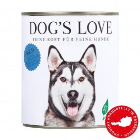 Dog's Love Futter Classic Fisch mit Amaranth, Karotte & Löwenzahn