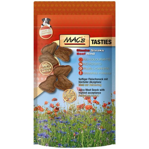 MAC's Hundesnack Tasties Steaks 4x60g