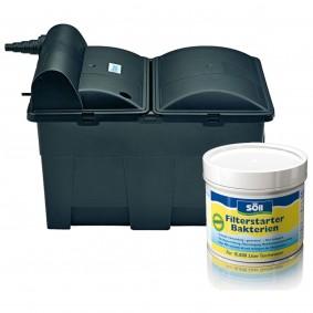 Oase Teichfilter BioSmart 16000 UVC inkl. Söll Filterstarterbakterien