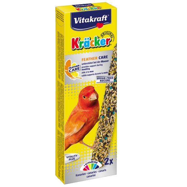 Vitakraft Kräcker Feather Care 2er Kanarien