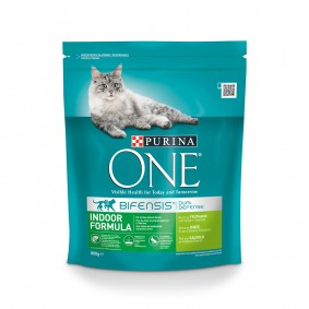 Purina ONE Bifensis Katzenfutter Indoor Formula Truthahn