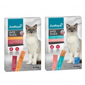 ZooRoyal Jelly Snack Mixpaket 2x11x80g