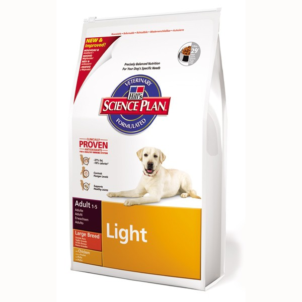 Hill's Science Plan Canine Adult Light Large Breed mit Huhn 12 kg