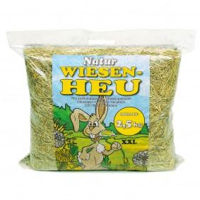 Hansepet Kleintierfutter Natur Wiesenheu 2,5 kg
