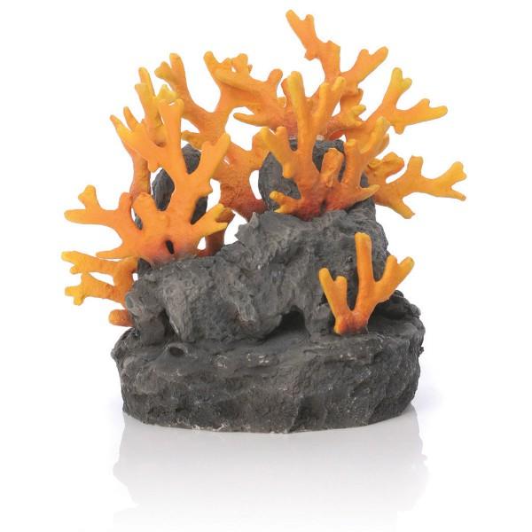 biOrb Aquariumdekoration Lavafels-Skulptur mit Feuerkorallen 775