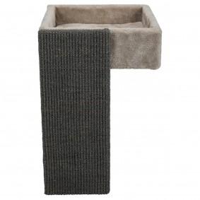 Trixie pelíšek do regálu se škrabadlem – světle šedý