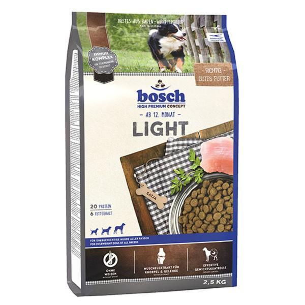 Bosch Hundefutter Light - 2,5 kg