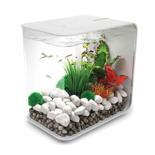 biOrb Flow LED Aquarium weiß - 15 Liter
