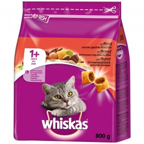 Whiskas Adult 1+ mit Rind