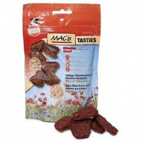 MAC's Dog Hundesnack Tasties Steaks 60g