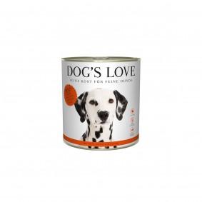 Dog's Love Classic Rind mit Apfel, Spinat und Zucchini