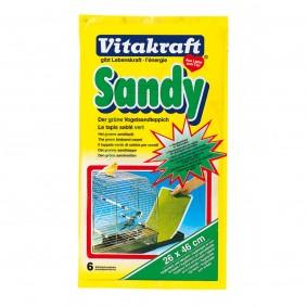 Vitakraft Sandy Vogelsand-Teppich 26x46cm 6er