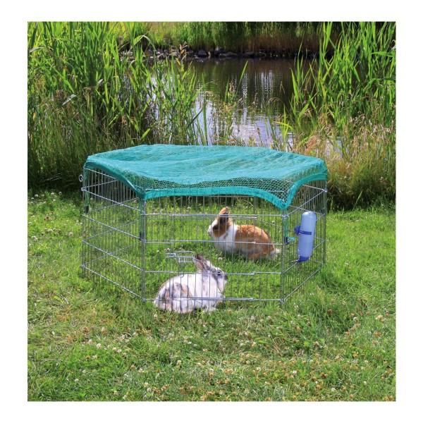 Trixie Freilaufgehege mit Netz für Kleintiere, ...