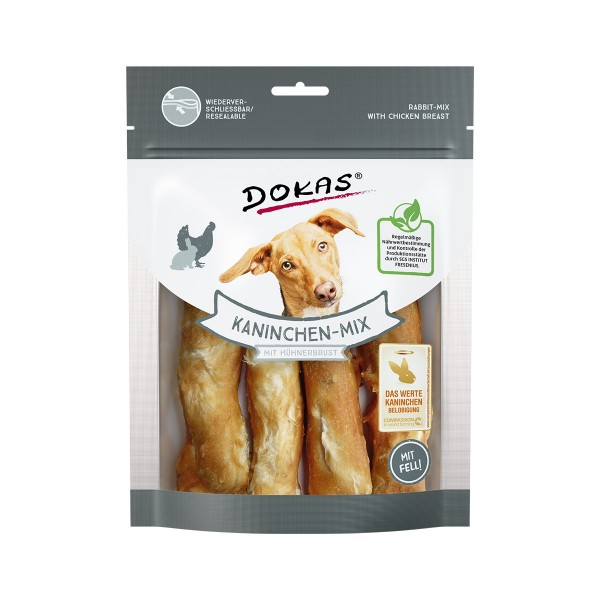 Dokas Kaninchen-Mix mit Hühnerbrust