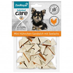 ZooRoyal Individual care Mini Hühnchen-Sandwich mit Seelachs