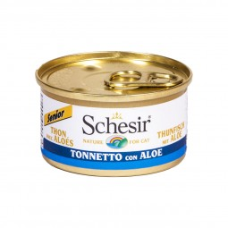 Schesir Cat Senior Thunfisch mit Aloe Vera