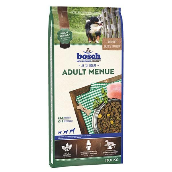 Bosch Hundefutter Adult Menü - 15kg