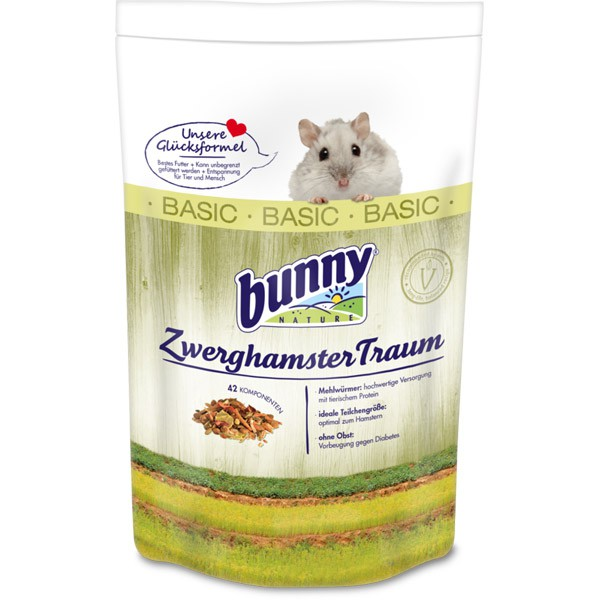Bunny ZwerghamsterTraum Basic 600g