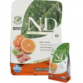 N&D Fisch&Orange Adult getreidefrei 1,5kg + 300g GRATIS