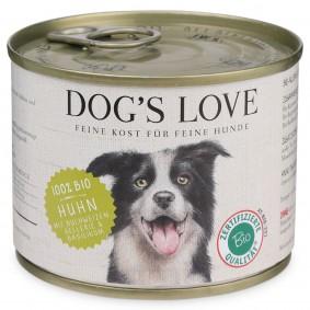 Dog's Love Bio Huhn mit Buchweizen, Sellerie & Basilikum