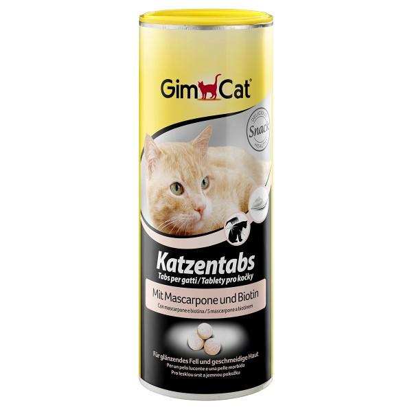 GimCat Katzentabs mit Mascarpone und Biotin 425g
